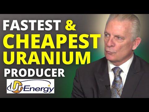 Uranium: The Cheapest & Fastest Producer of Uranium (TSX: URE) (NYSE: URG)