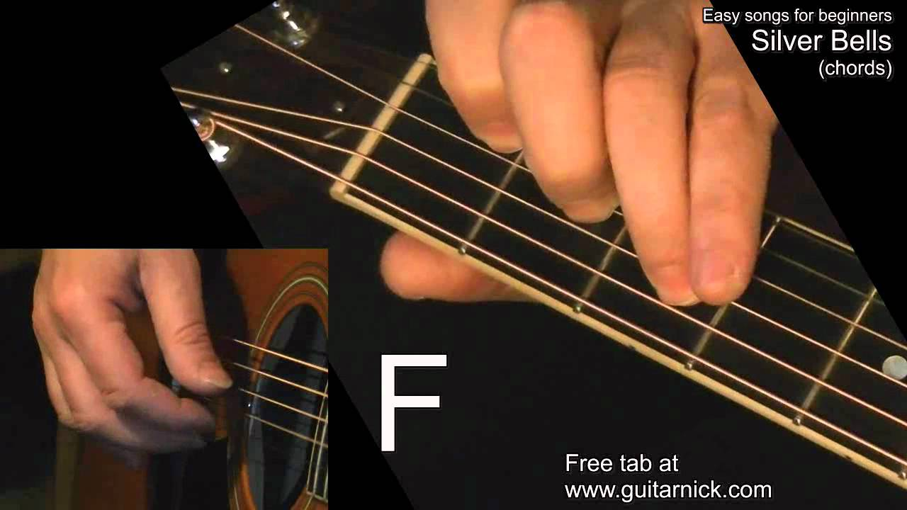Silver Bells Chords Guitar Lesson Tab By Guitarnick Youtube
