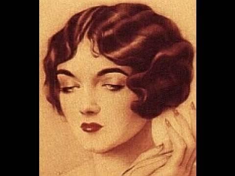 1920s1930s hair tutorial for long hair youtube