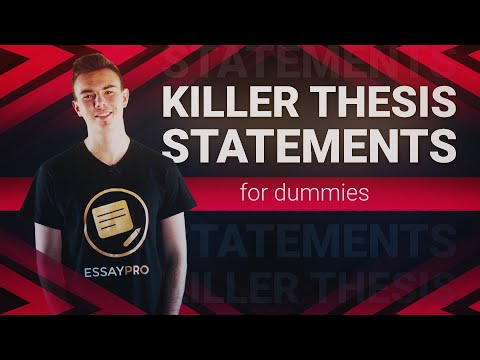 Thesis Statement Writing [Examples, Definition, Outline]