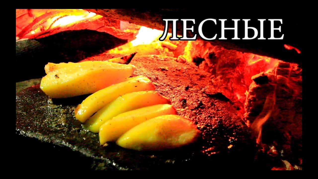 Дикая кухня  КАМЕННАЯ СКОВОРОДА  Hot Stone Cooking  Youtube