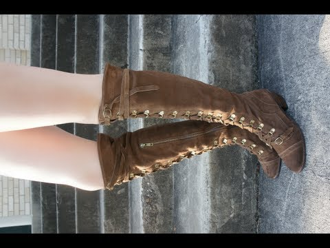 c1d7e39e1df JEFFREY CAMPBELL FREE PEOPLE JOHNNY TALL BOOT - YouTube