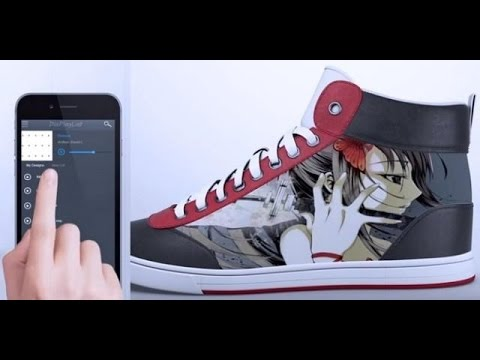 Умные кроссовки Shiftwear: Обувь меняющая цвет во время ходьбы