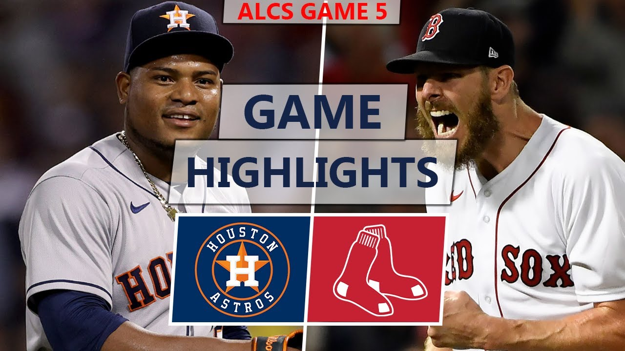 Red Sox vs. Astros score: Live updates from ALCS Game 6 as ...
