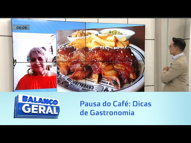 Pausa do Café: Dicas de Gastronomia