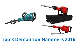 8 Best Demolition Hammers 2016
