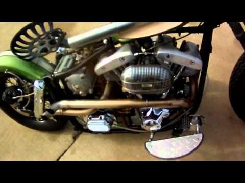 Tractor Seat Shovelhead Youtube