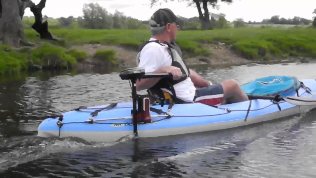 Bic Bilbao Bic Tobbago Kayaks Testing With Electric