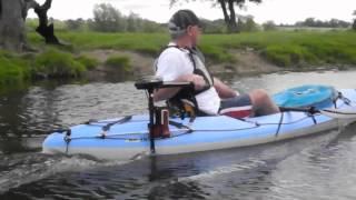 Bic Bilbao & Bic Tobbago kayaks, testing with electric motor