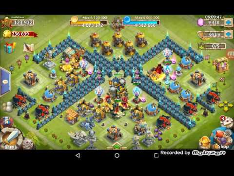 Castle Clash Tutorial - The Game Changer Inscriptions FTW