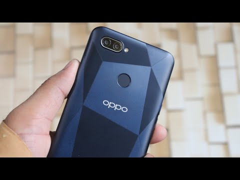 Oppo A12 ( Black ) Unboxing and First Impressions ( HINDI ) Budget Smartphone Under Rs. 10000