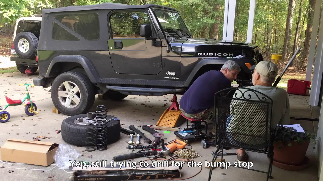 Installing A 4 Lift Kit From Savvy Off Road Currie Youtube