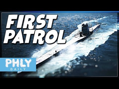 UBOAT - First Patrol & Infiltrating A Merchant Convoy (Uboat Gameplay)
