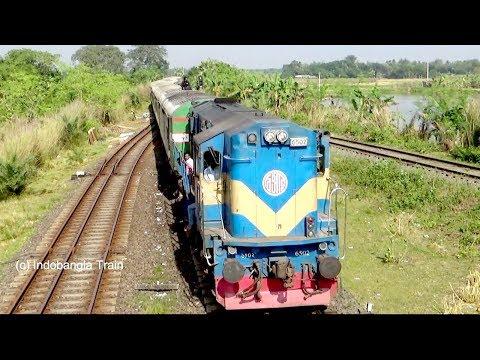 Dhumketu Express Dhaka to Rajshahi of Bangldesh Railway.