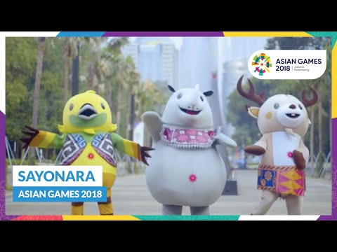 Sayonara Asian Games 2018