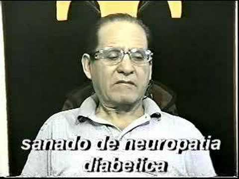 Sanado de Neuropatia Diabetica - YouTube