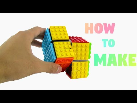 How to Make a Lego Rubik's Cube 2x2