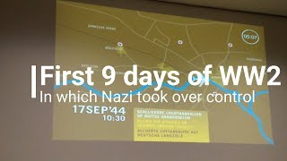 World War 2  | First 9 Days in 5 mins  | How British and Polish were defeated in WW2