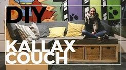 DIY Couch aus Kallax Regalen! | Ikea Hack | Sofa selber bauen