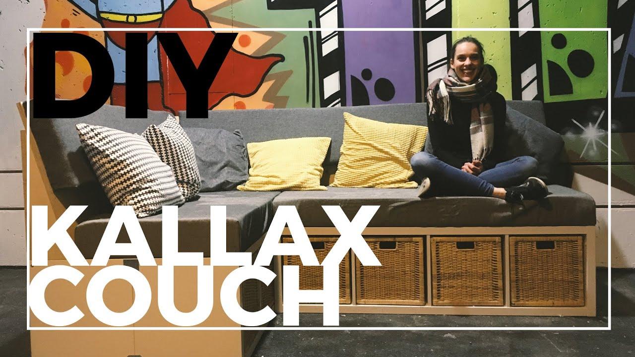 DIY Couch aus Kallax Regalen   Ikea Hack   Sofa selber bauen