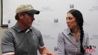 alex interviews chip and joanna gaines