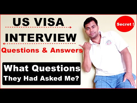 US VISA QUESTIONS & ANSWERS | What Did They Asked Me | C1/D VISA