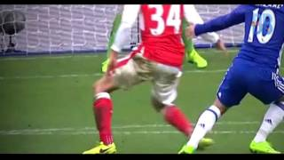 Amazing! eden hazard vs arsenal (04/02/2017)