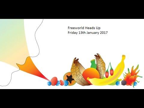 Freeworld Heads Up 13/01/2017