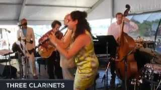 3 Clarinets: Ken Peplowski / Evan Christopher / Anat Cohen - Swing That Music (Louis Armstrong) live