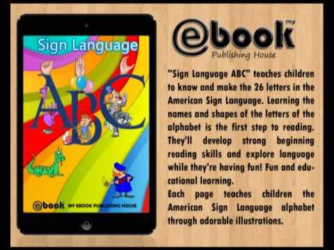 Sign Language ABC (ebook, epub, mobi) - My Ebook Publishing House