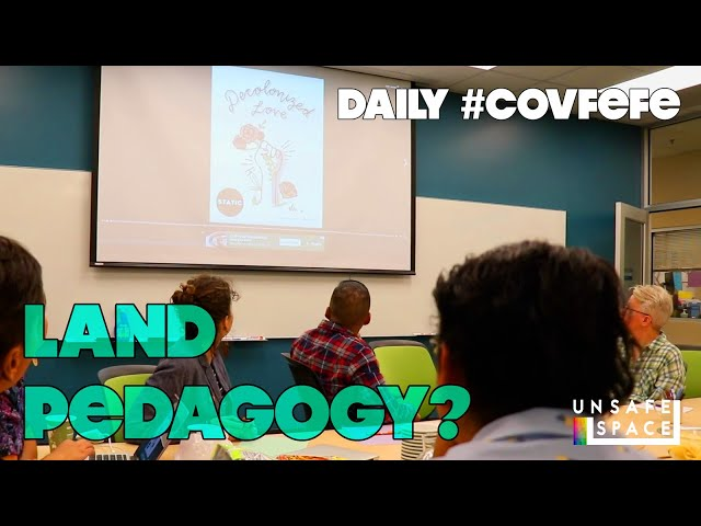 Daily #Covfefe: Land Pedagogy and Other Bad Investments