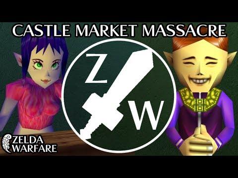 Castle Market Massacre - Zelda Warfare
