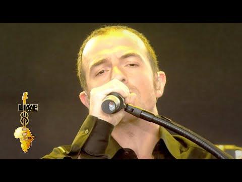 Calogero - Prendre Racine (Live 8 2005)