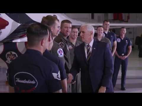 Vice President Pence Delivers Remarks at Nellis Air Force Base in Nevada