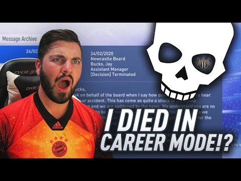 FIFA 19 - I DIED IN CAREER MODE!?