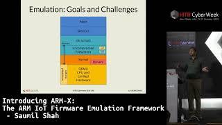 #HITBCyberWeek D2T1 - Introducing ARM-X: The ARM IoT Firmware Emulation Framework - Saumil Shah