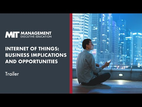 Course Trailer | MIT Sloan Internet of Things