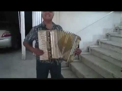 اجرا انوشيروان روحاني با يه آكاردئون در پاركينگ