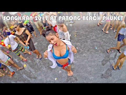 SONGKRAN 2017 AT PATONG BEACH PHUKET