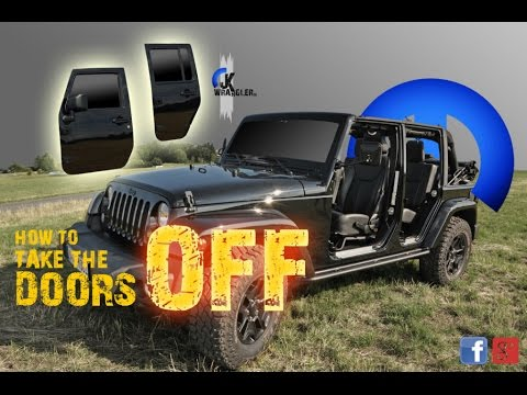 Jeep Wrangler JK | How to take the doors off (Fast Motion) & Jeep Wrangler JK | How to take the doors off (Fast Motion) - YouTube Pezcame.Com