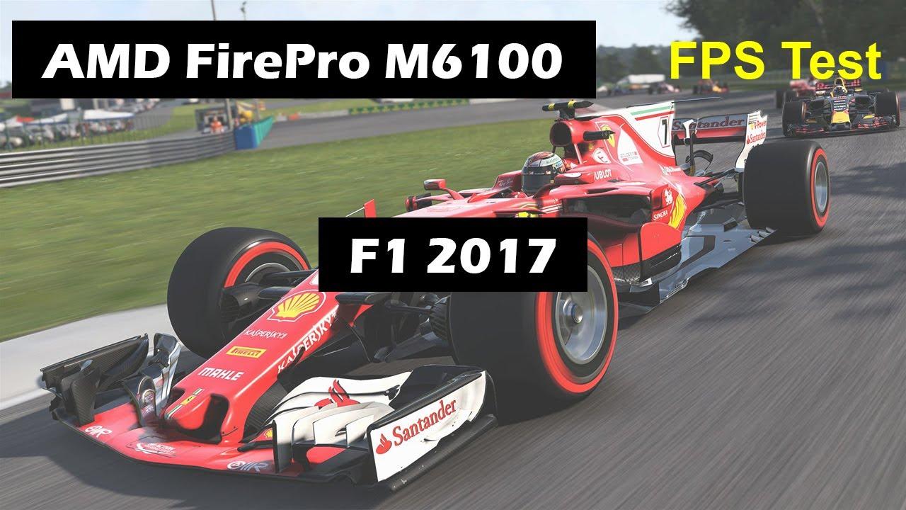 Dell Precision M6600 Core I7 2620m Amd Firepro M6100 Radeon 8950m F1 2017 Gaming Youtube
