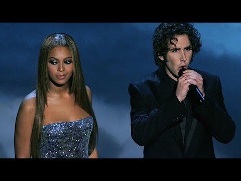 Beyonce Feat Josh Groban - Believe (Live Oscar 2005) HD