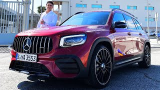 2020 Mercedes GLB 35 AMG | BRUTAL Drive Review 4MATIC + Sound Exhaust Interior Exterior
