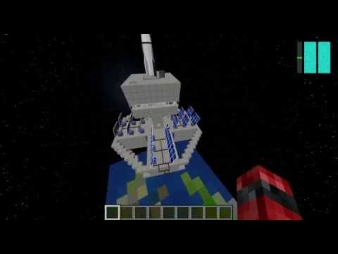 Minecraft Galacticraft - Episode 3 Overworld Space Station