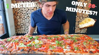 Video THE MONSTER METER PIZZA SMACKDOWN & DESSERT! I 10,000 CALORIES I MAGICMIKEY! download MP3, 3GP, MP4, WEBM, AVI, FLV Oktober 2018