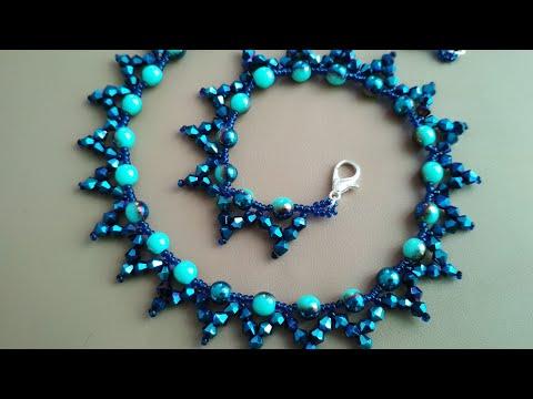 Beautiful Necklace. МК по изготовлению колье