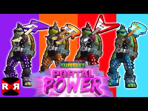TMNT - Portal Power Rock Star Costume Unlocked Gameplay