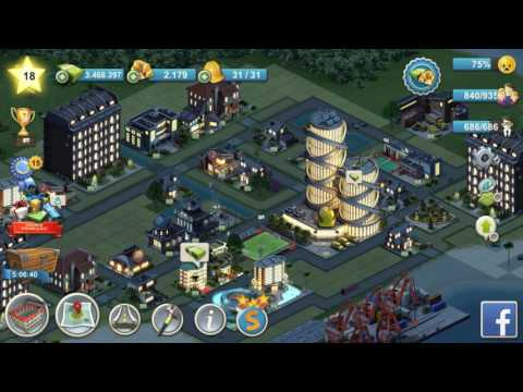 City Island 4 Mod Dinheiro Infinito (Infinite money) !