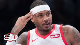 Carmelo Anthony to wear No. 00 jersey with the Blazers | SportsCenter