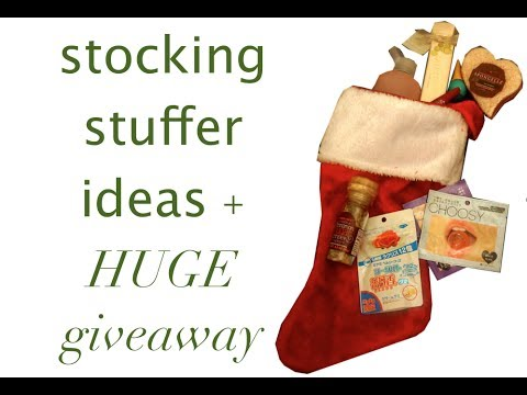 Stocking Stuffer + Grab Bag Ideas And HUGE Giveaway!
